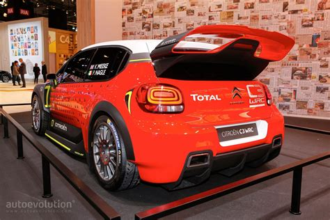 Citroen Rally Car by Citroen S C3 Wrc Is The Most Beautiful Rally Car In