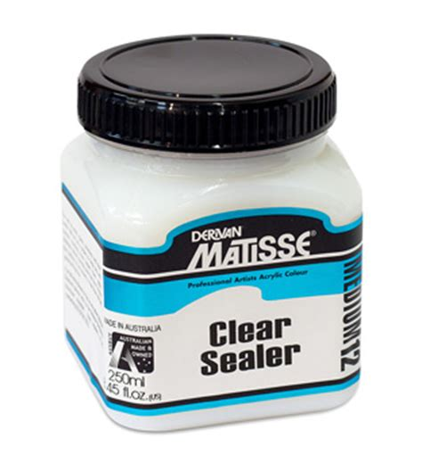 do i need to seal acrylic paint on canvas mm12 clear sealer 250ml brand derivan materials