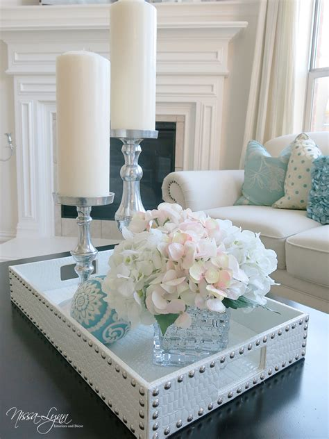 decorating table for nissa interiors coffee table decor