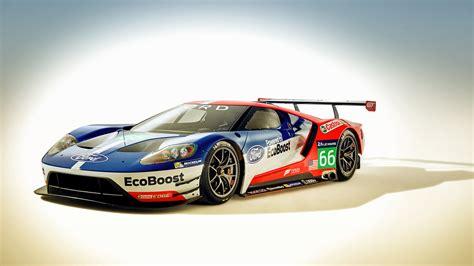 A Race Car Wallpaper by Ford Gt Race Car 2016 Wallpaper Hd Car Wallpapers Id 5625