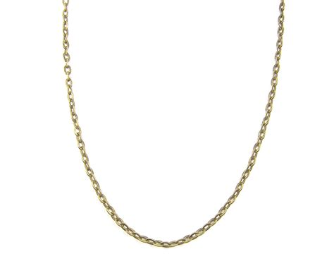 brass chain for jewelry 30 inch brass chain necklace medium link antique brass plated
