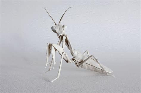 origami mantis galleries print origami designs fubiz