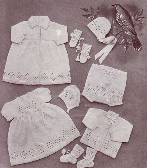 baby layette knitting patterns free free knitting pattern lullaby layette