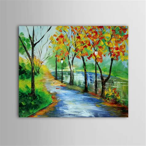 acrylic house paint on canvas buy handpainted landscape scenery acrylic painting canvas