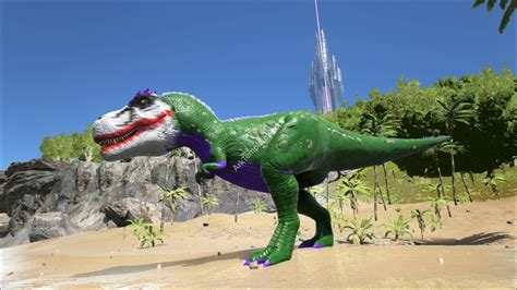 ark spray painter dino joker rex arktemplates exclusive ark templates