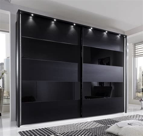 Build An A Frame phoebe by stylform black matt amp glass wardrobe head2bed uk