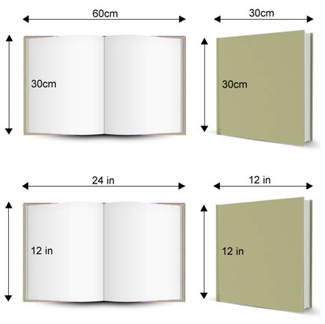 picture book sizes 12 x 12 in follow your photo book size guide here