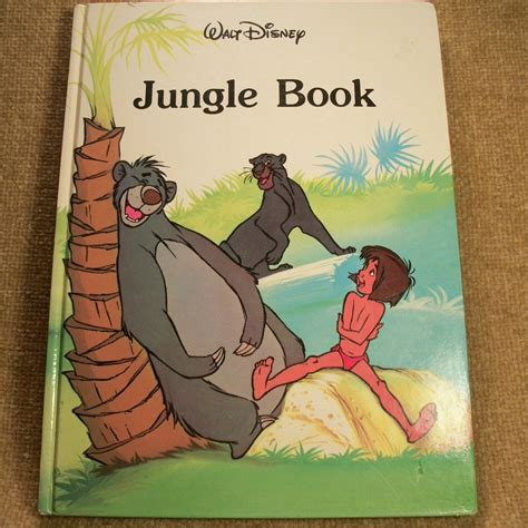 Walt Disney Jungle Book Book From Illustrated Book