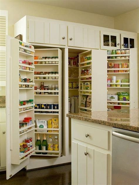 kitchen counter storage ideas pantry cabinet ideas the owner builder network