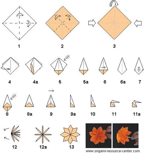 how to make paper origami flowers for folding origami flowers 171 embroidery origami