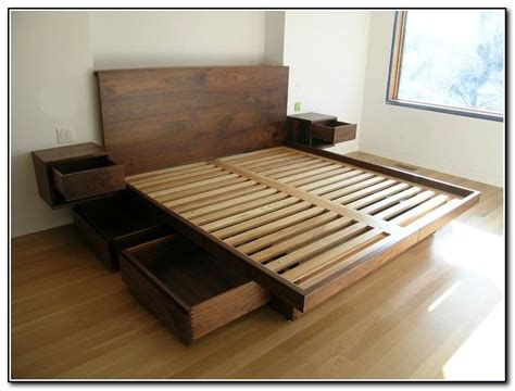 building a bed frame with storage best 25 floating bed frame ideas on shoes