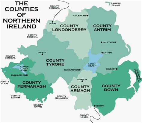 northern ireland the counties of northern ireland