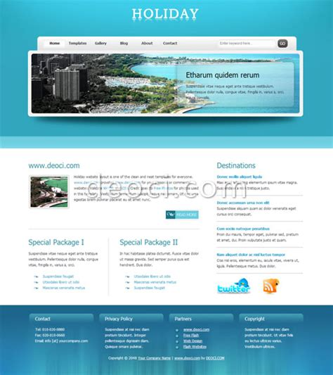 free homepage for website design image gallery homepage design templates