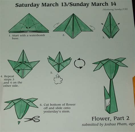 how to make a paper flower origami step by step how to make origami flowers step by step