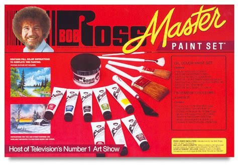 bob ross painting kit review bob ross master paint set blick materials