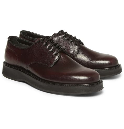 grain leather shoes church s leyton pebble grain leather derby shoes in
