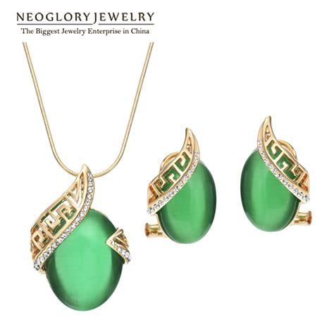jewelry stores that make custom jewelry aliexpress buy neoglory gold plated wedding custom