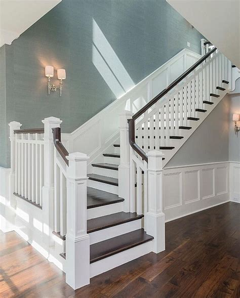 stairwell ideas best 25 wainscoting stairs ideas on stairway