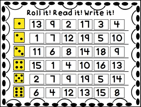 read dice designs dice for math and literacy centers