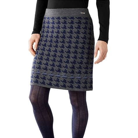 womens knit skirts smartwool s knit houndstooth skirt at moosejaw