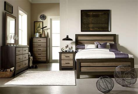 weathered oak bedroom furniture fremont and smoky weathered oak panel bedroom set