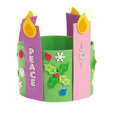 advent crafts for advent candle stand up wreath decoration crafts crafts