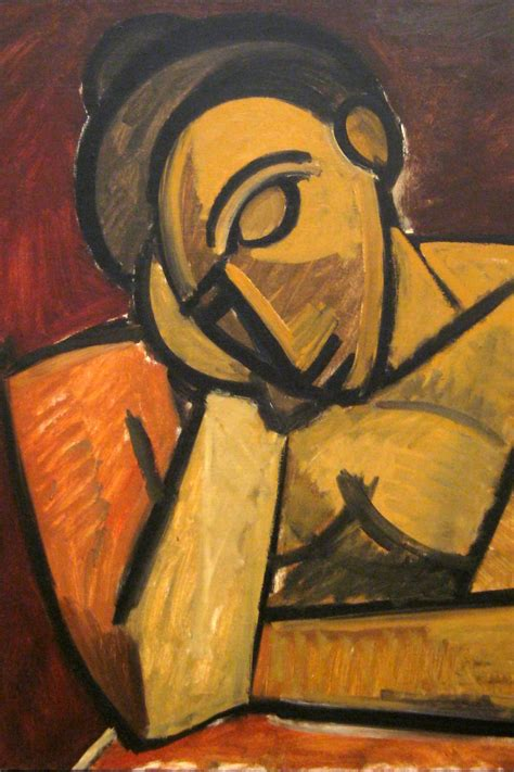 picasso paintings in nyc nyc moma pablo picasso s repose flickr photo