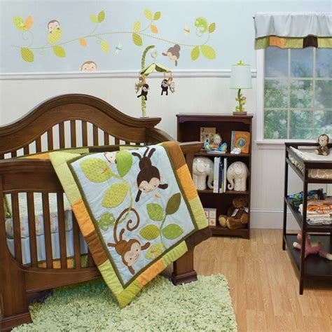 monkey crib bedding monkey baby crib bedding cocalo coco company monkey time