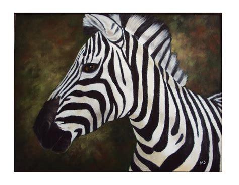 paint colors that go with zebra print zebra painting painting by debra cerbonesteiner