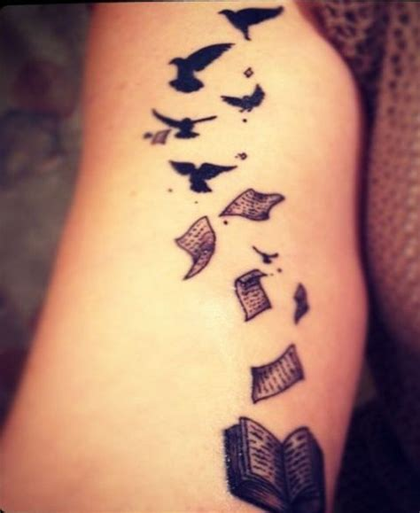 21 small book tattoo ideas for girls styleoholic