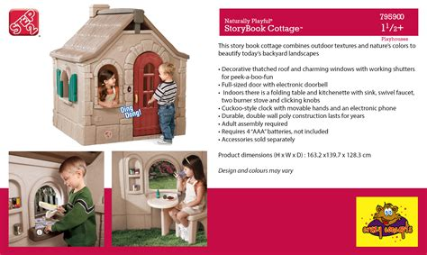 step 2 playhouse storybook cottage playhouses for step2 concepts
