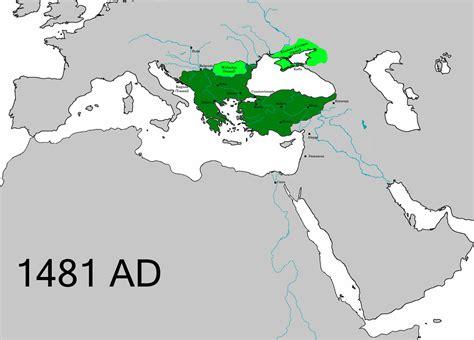 ottoman empire located file ottomanempire1481 png