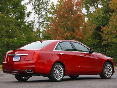 Cadillac Cts by 2018 Model Year Brings Minor Changes To Cadillac Cts Cts