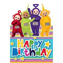 teletubbies cards teletubbies wrapping paper and cards the