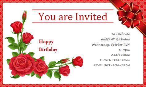 how to make a birthday invitation card happy birthday invitation cards plumegiant
