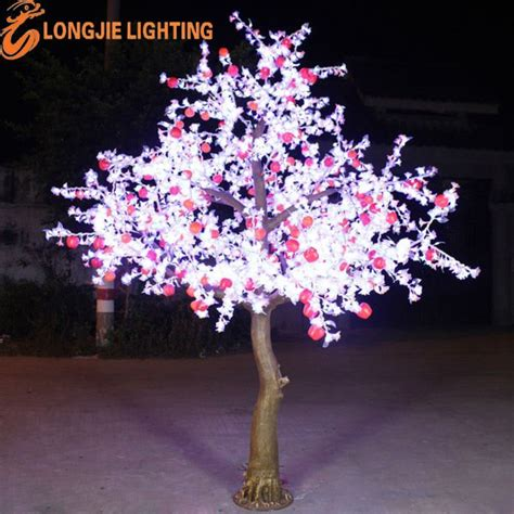 lighted trees for outside white outdoor lighted trees