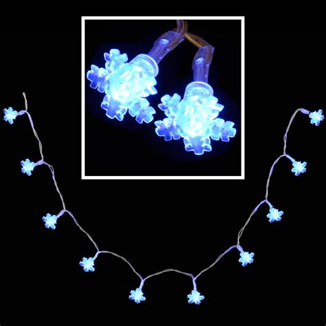 snowflake lights indoor 10 blue led snowflake lights indoor battery operated