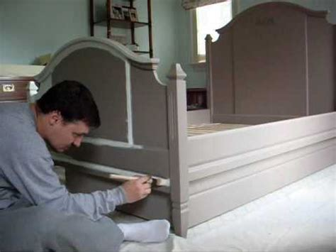 spray painting metal bed frame bed painting wmv