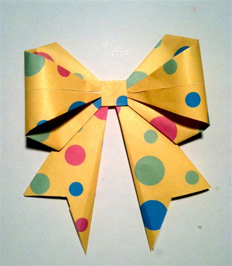 how to make an origami bow origami bow pdx pursuit