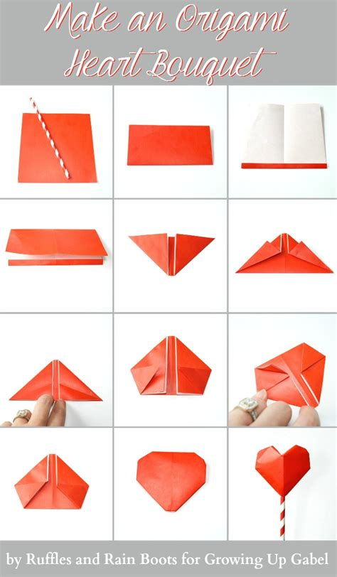 how to make a 3d origami step by step origami bouquet and garland