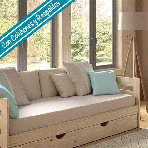 sofa cama con cajones cama sof 225 caj 243 n colch 243 n respaldos fundas