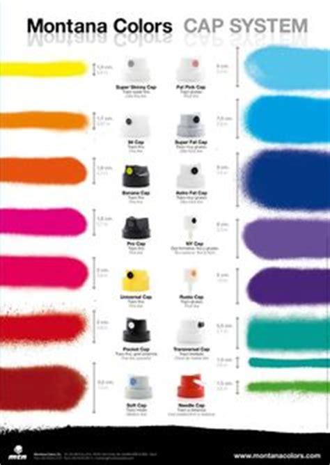 spray paint caps guide montana 94 color chart diy colors montana