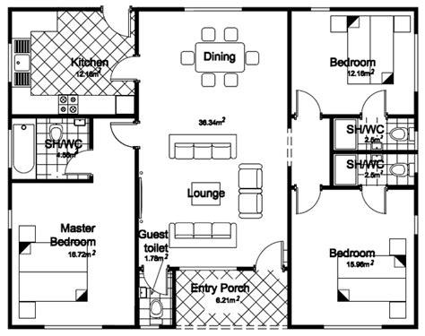 3 bedroom bungalow design 3 bedroom bunglow floor palns studio design gallery