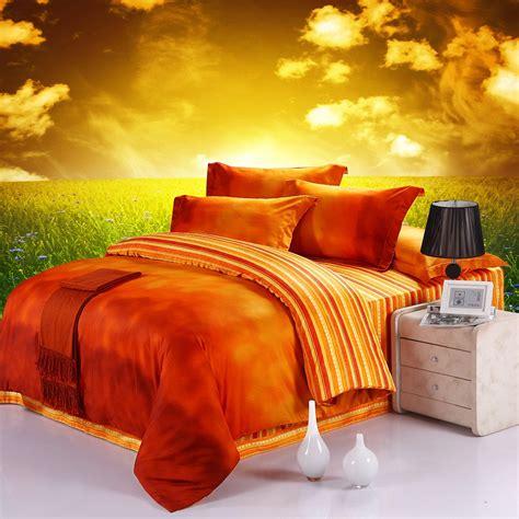 king size orange comforter set 10 bright orange comforters and bedding sets