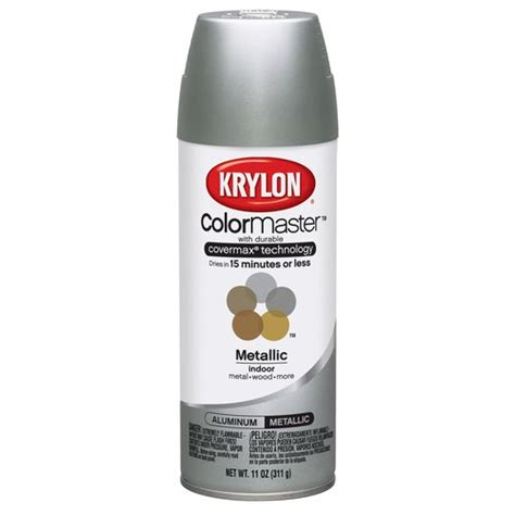 spray paint walmart krylon colormaster aluminum spray paint walmart