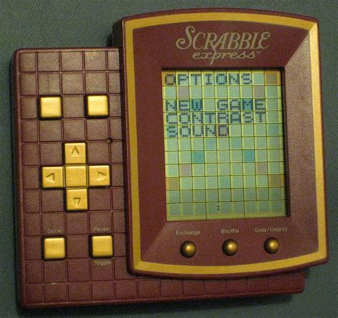 electronic scrabble sold scrabble express handheld travel electronic