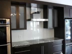 white kitchen grey glass backsplash home design ideas