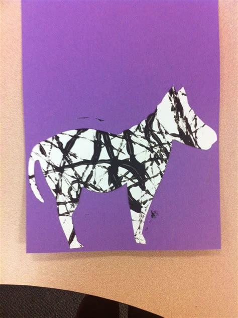 zebra craft for zebra craft