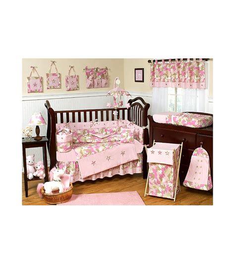 camo crib bedding sets sweet jojo designs camo pink 9 crib bedding set