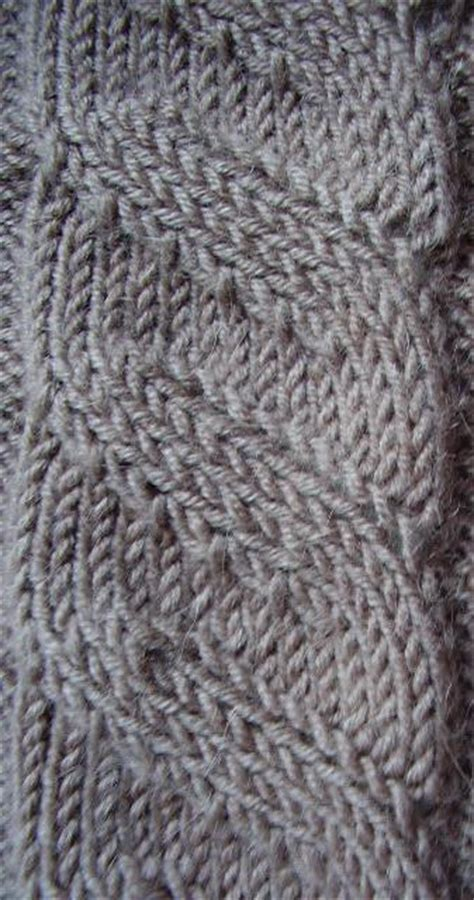 how to knit tbl black designs